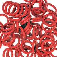 12mm Rubber O-Ring Spacer - Dark Red