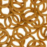 12mm Rubber O-Ring Spacer - Ginger
