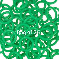 12mm Rubber O-Rings BAG of 25 - Shamrock