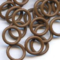 12mm Rubber O-Ring Spacer - Chocolate