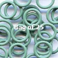 12mm Rubber O-Rings BAG of 25 - Sage