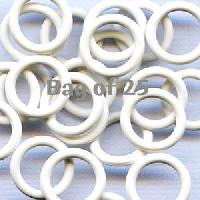 12mm Rubber O-Rings BAG of 25 - White