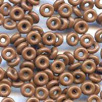 3mm Rubber O-Ring Bag of 25 Spacers - Chocolate Brown