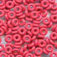 3mm Rubber O-Ring Bag of 25 Spacers - Cherry Pop