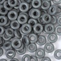 6mm Rubber O-Rings BAG of 25 - Charcoal