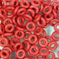 6mm Rubber O-Rings BAG of 25 - Cherry Pop
