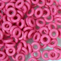 6mm Rubber O-Rings BAG of 25 - Flamingo