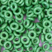 6mm Rubber O-Rings BAG of 25 - Grass Green