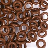 7.25mm Rubber O-Ring Spacer - Dark Chocolate