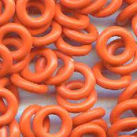 7.25mm Rubber O-Ring Spacer - Orange