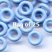 7.25mm Rubber O-Rings BAG of 25 - Blue Ice