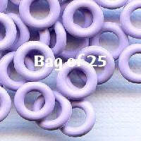 7.25mm Rubber O-Rings BAG of 25 - Heather