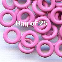 7.25mm Rubber O-Rings BAG of 25 - Orchid