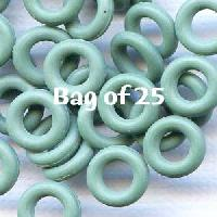 7.25mm Rubber O-Rings BAG of 25 - Sage