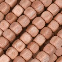 Rosewood Bead Cube 6mm