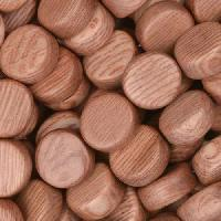 Rosewood Bead Coin 10x5mm