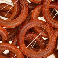 Redwood Bead O-ring 28x5mm - strand