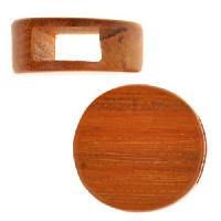 Redwood Slide Large Hole Round Flat 20mm - piece