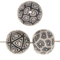 Samunnat Bindu Round Large 24mm - Black / Grey / White