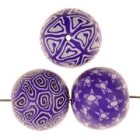 Samunnat Bindu Round Large 24mm - Purple
