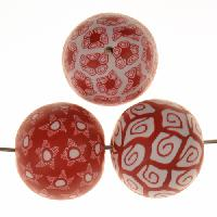 Samunnat Bindu Round Large 24mm - Red / White