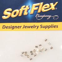 Soft Flex Crimp Tube 2x2mm - Silver Filled