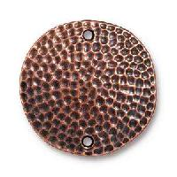 TierraCast Link Hammertone Disk - Antique Copper