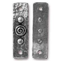 TierraCast Link Spiral & Rivets - Antique Silver