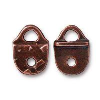 TierraCast Link Rock and Roll Strap Tip - Antique Copper