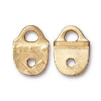 TierraCast Link Rock and Roll Strap Tip - Gold Plate