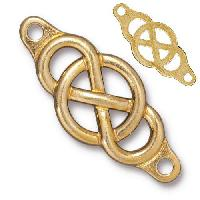TierraCast Link Infinity Centerpiece - Gold Plated