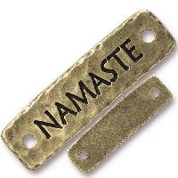 TierraCast Link Namaste - Antique Brass