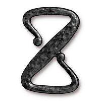 TierraCast Clasp Z Hook - Black Plate