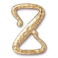TierraCast Clasp Z Hook - Gold Plate