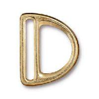 TierraCast Clasp 20mm Slotted D Ring - Gold Plate