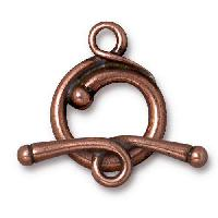 TierraCast Clasp Toggle Renaissance - Antique Copper
