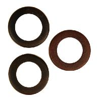 Tiger Ebony Wood O-Ring 15x5mm
