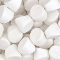 White Wood Bleach Bead Double Side Cut 10mm