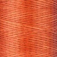Waxed Jewelry Cord Flat - Sienna