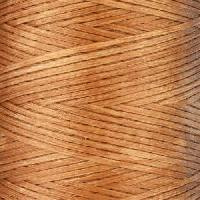 Waxed Jewelry Cord Flat - Light Brown