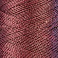 Waxed Jewelry Cord Round - Plum