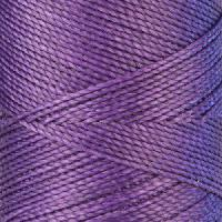 Waxed Jewelry Cord Round - Purple