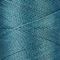 Waxed Jewelry Cord Round - Teal