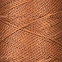 Waxed Jewelry Cord Round - Dark Camel