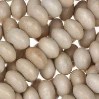 White Wood Natural Bead Rondelle 12x6mm