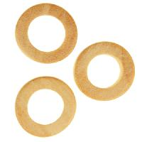White Wood Natural O-Ring 15x5mm
