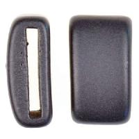 Clay River Porcelain Slider Flat 20mm Large - Matte Black