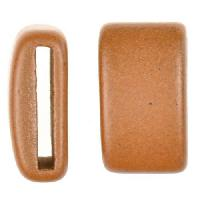 Clay River Porcelain Slider Flat 20mm Large - Matte Terracotta