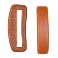 Clay River Porcelain Slider Flat 20mm Small - Matte Terracotta