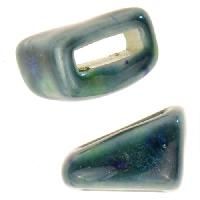 Clay River Porcelain Tri-Slider Flat 10mm - Blue Azure